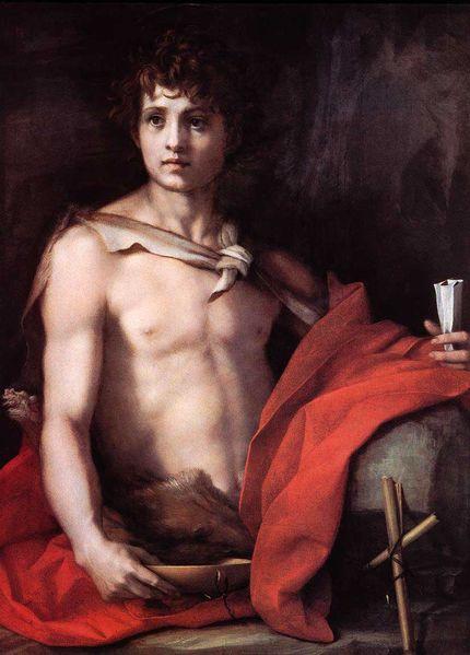 Andrea del Sarto, 'John the Baptist', c. 1528