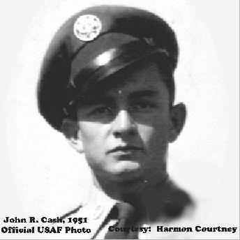 Sergeant John R Cash, USAF