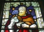 Centurion Window from the Church in Coaly, Scotland
