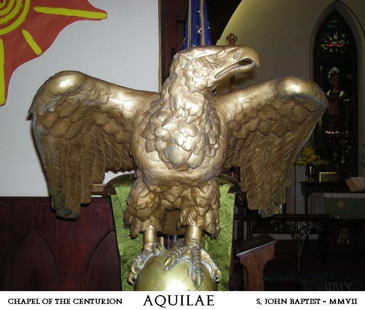 Legion Eagle and Mascot