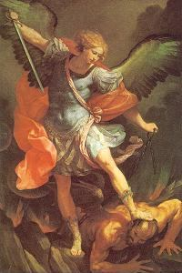 St Michael Archangel Slays Satan