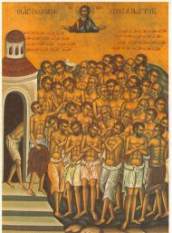 40 martyrs of Sebaste